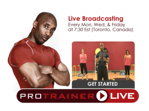 Train Live With Me, Start Today and Get the Body You Deserve Tomorrow!