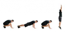 Burpees to Lose Weight