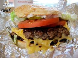 Five Guys Regular Burger