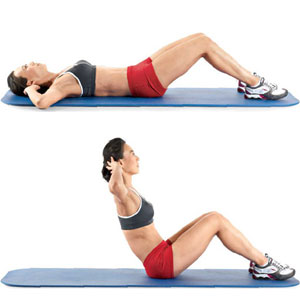 Sit-Up or Crunches to Lose Weight