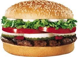 Burger King Regular Burger