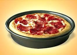 Pizza Hut Personal Pan Peperoni Pizza