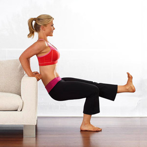 Couch Tricep Dips